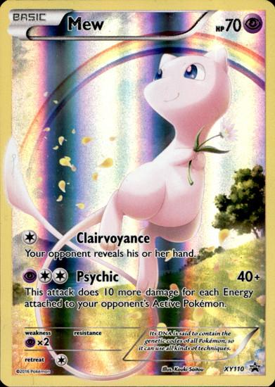 Pokemon X & Y Promo Promo Holo Full Art Mew XY110