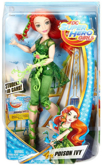 DC Super Hero Girls Poison Ivy 12-Inch Deluxe Doll