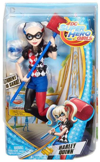 DC Super Hero Girls Harley Quinn 12-Inch Deluxe Doll