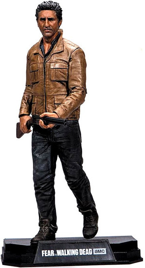McFarlane Toys Fear the Walking Dead Color Tops Red Wave Travis Manawa Action Figure #3