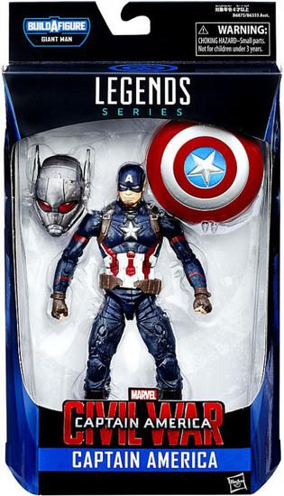 Captain America Civil War Marvel Legends Giant Man Series Captain America Action Figure