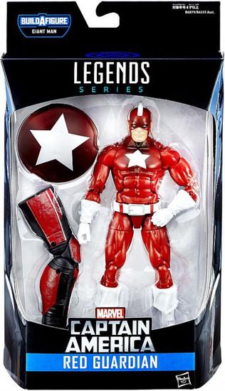 Captain America Civil War Marvel Legends Giant Man Series Red Guardian Action Figure