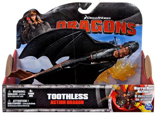 How to Train Your Dragon Dragons Action Dragon Toothless Action Figure