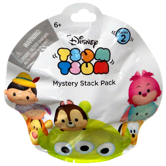 Disney Tsum Tsum Series 2 Mystery Stack Pack [1 RANDOM Figure]
