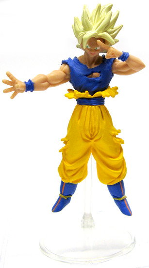 Dragon Ball Z Super Saiyan Goku 4-Inch PVC Figure [Instant Transmission]