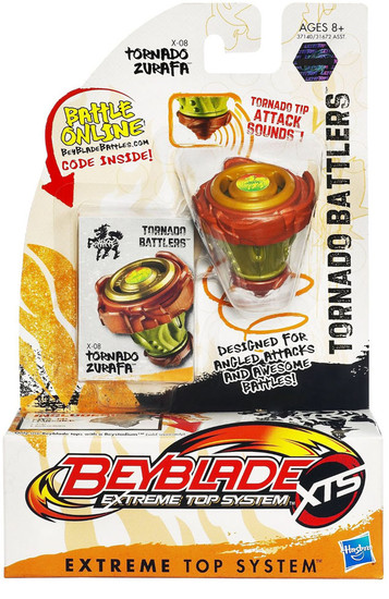Beyblade XTS Tornado Battlers Tornado Zurafa X-08 [Damaged Package]
