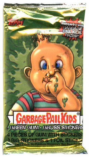 Garbage Pail Kids Topps All-New Series 1 Trading Card Sticker Pack
