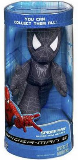 Spider-Man 3 Spider-Man 5-Inch Plush [Black Costume]