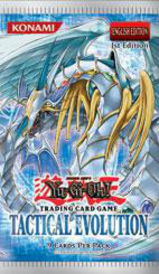 YuGiOh Trading Card Game Tactical Evolution Booster Pack