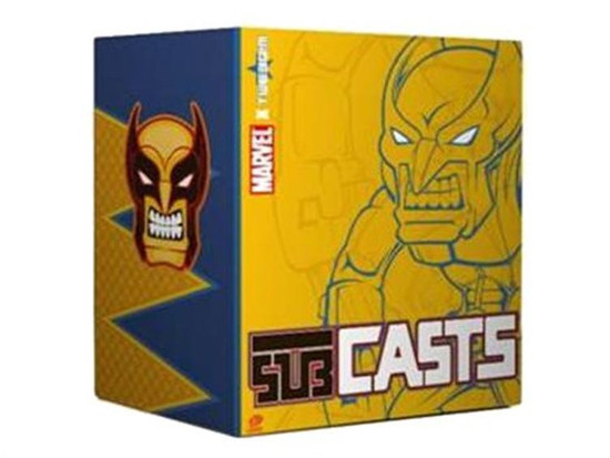 Sub Casts Wolverine Vinyl Figure