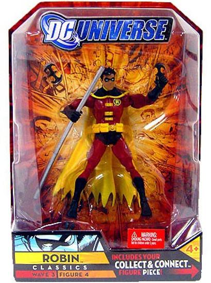 DC Universe Classics Wave 3 Build Solomon Grundy Robin Action Figure #4