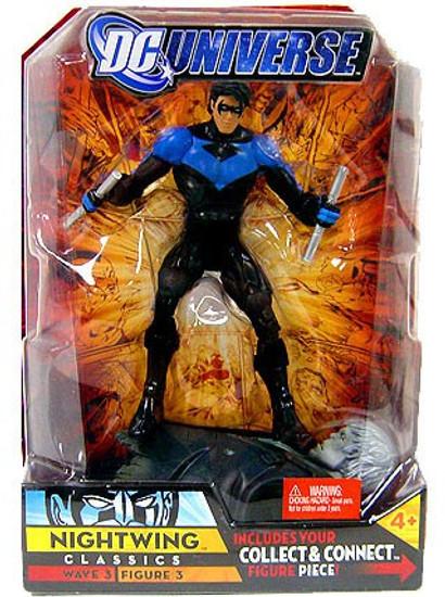 DC Universe Classics Wave 3 Build Solomon Grundy Nightwing Action Figure #3