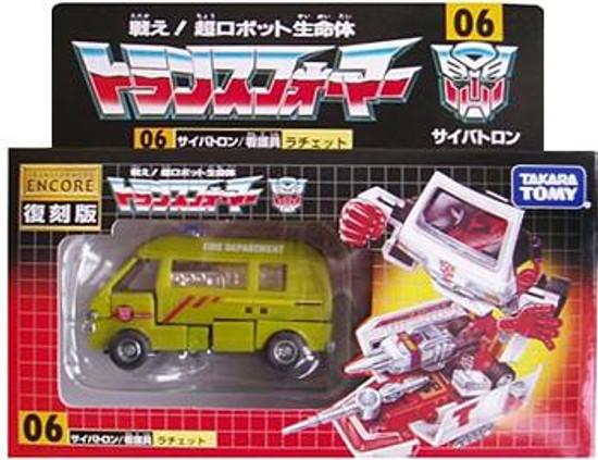 Transformers Japanese Renewal Encore Ratchet Exclusive Action Figure #06