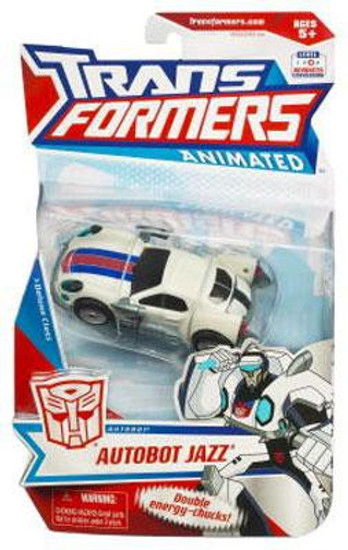 Transformers Animated Autobot Jazz Deluxe Action Figure