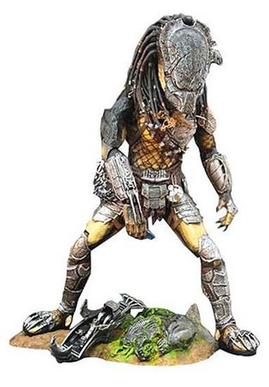 Alien vs Predator Requiem Movie Masterpiece Predator Cleaner Kit Version Collectible Figure [Wolf]