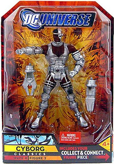 DC Universe Classics Despero Series Cyborg Action Figure #2