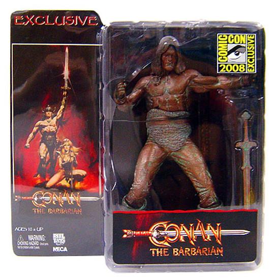 NECA Conan the Barbarian Conan Exclusive Action Figure [Bronze Finish]
