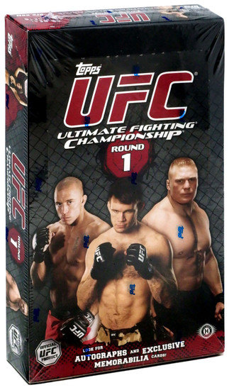 UFC Ultimate Fighting Championship 2009 Round 1 Trading Card Box [16 Packs, 3 Autographs & 3 Relic Cards]