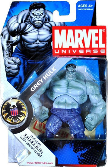 Marvel Universe Series 2 Grey Hulk Action Figure #14