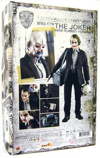 Batman The Dark Knight The Joker Collectible Figure [Bank Robber Version]