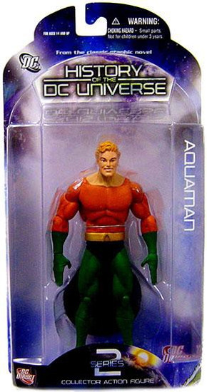 History of the DC Universe Series 2 Aquaman Action Figure