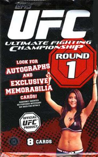 UFC Ultimate Fighting Championship 2009 Round 1 Trading Card Pack [8 Cards!]