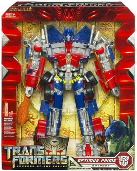 Transformers Revenge of the Fallen Optimus Prime Leader Action Figure [Electronic]
