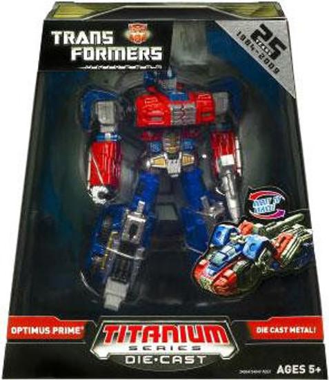 Transformers Universe TItanium Series Optimus Prime Exclusive Diecast Figure [Universe]