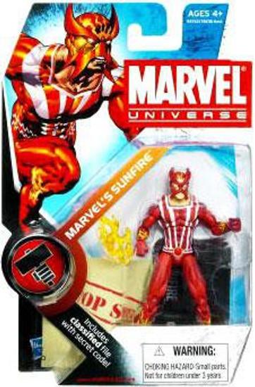 Marvel Universe Series 6 Marvel's Sunfire Action Figure #5