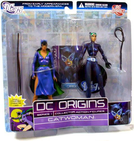 DC Origins Series 1 Catwoman Action Figure 2-Pack