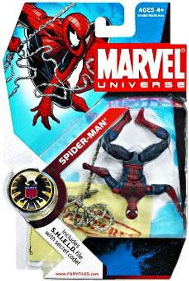 Marvel Universe Series 5 Spider-Man Action Figure #32 [Upside Down Variant]