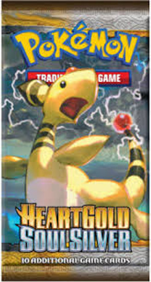 Pokemon Trading Card Game HeartGold SoulSilver Booster Pack [10 Cards]