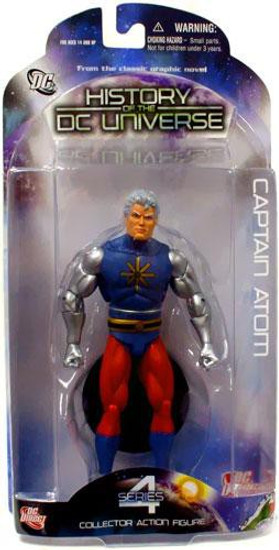 History of the DC Universe Series 4 Captain Atom Action Figure
