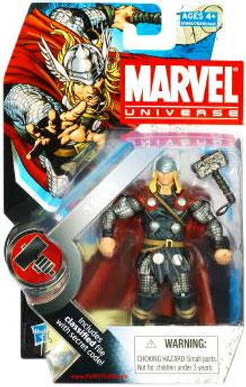 Marvel Universe Series 7 Thor Action Figure #12 [Modern]
