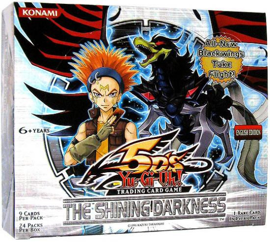 YuGiOh Trading Card Game The Shining Darkness Booster Box [24 Packs]