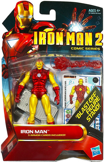 Iron Man 2 Comic Series Iron Man Action Figure #26 [Classic Armor]