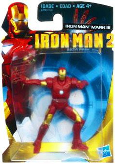 Iron Man 2 3 Inch Iron Man Mark III Action Figure