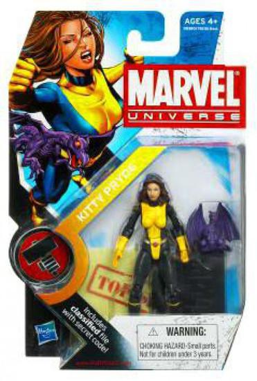 Marvel Universe Series 8 Kitty Pryde & Lockheed Action Figure #17