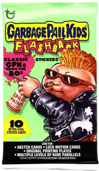 Garbage Pail Kids Topps Flashback Trading Card Sticker Pack
