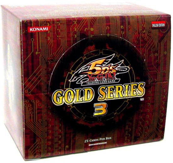 YuGiOh Trading Card Game 2010 Gold Series 3 Exclusive Booster Box [5 Packs]