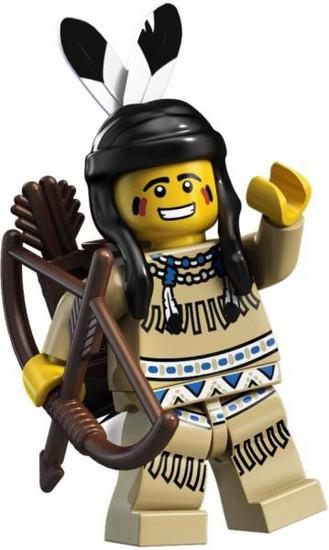 LEGO Minifigures Tribal Hunter Minifigure [Loose]