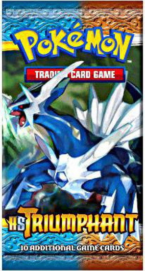 Pokemon Trading Card Game HeartGold SoulSilver Triumphant Booster Pack [10 Cards]