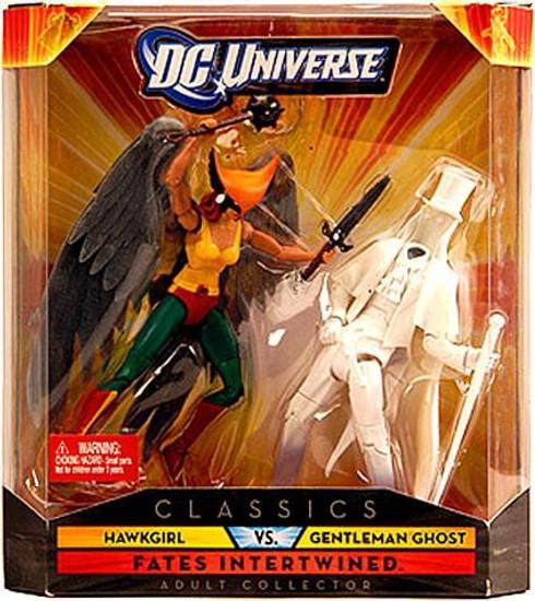DC Universe Classics Hawkgirl vs. Gentleman Ghost Exclusive Action Figures