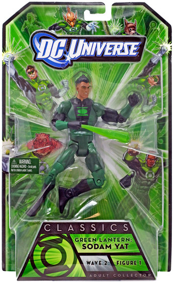 DC Universe Green Lantern Classics Stel Series Sodam Yat Action Figure