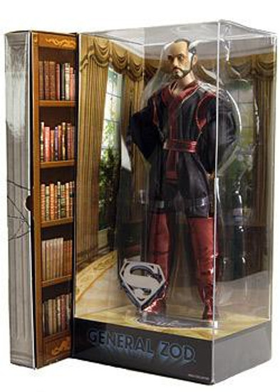 DC Superman Movie Masters General Zod Exclusive Deluxe Action Figure [Terence Stamp]