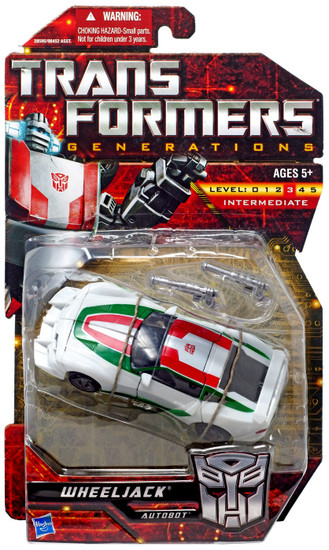 Transformers Generations Wheeljack Deluxe Action Figure