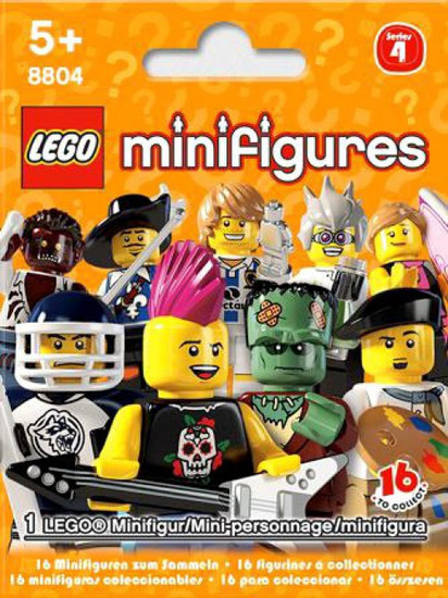LEGO Minifigures Series 4 Mystery Pack
