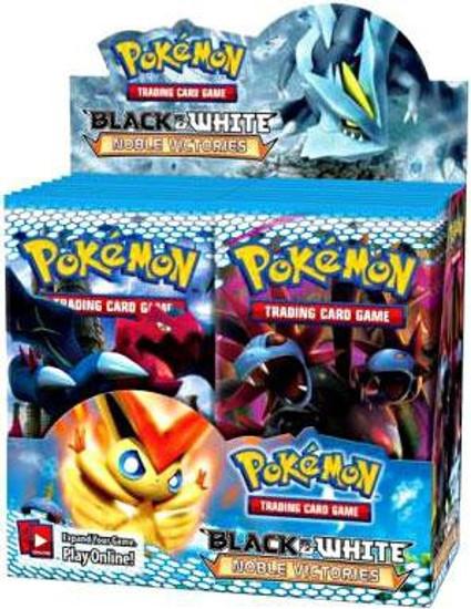Pokemon Trading Card Game Black & White Noble Victories Booster Box [36 Packs]