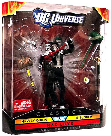DC Universe Classics Harley Quinn & The Joker Exclusive Action Figures