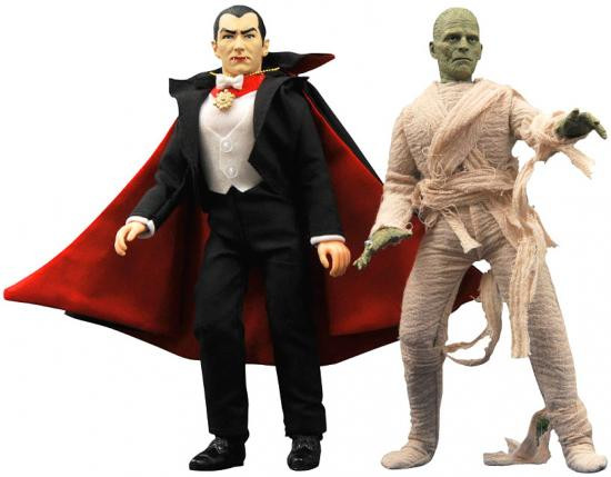 Universal Monsters Retro Series 2 Set of 2 Clith Figures